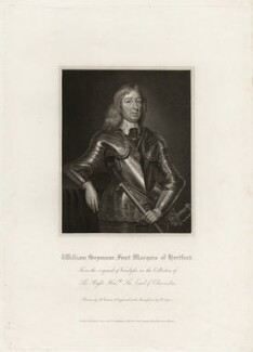 William Seymour, 2nd Duke of Somerset, by Robert Cooper, published by  Lackington, Allen & Co, published by  Longman, Hurst, Rees, Orme & Brown, after  Harold Crease, after  Robert Walker - NPG D28173