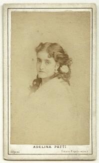 Adelina Patti, by Charles Reutlinger - NPG x12681