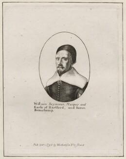William Seymour, 2nd Duke of Somerset, after Wenceslaus Hollar, published by  William Richardson - NPG D28180
