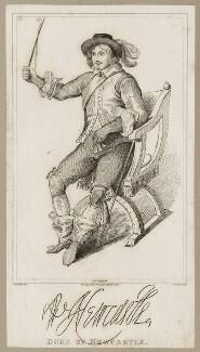 William Cavendish, 1st Duke of Newcastle-upon-Tyne, by John Romney, after  Abraham Diepenbeeck - NPG D28184