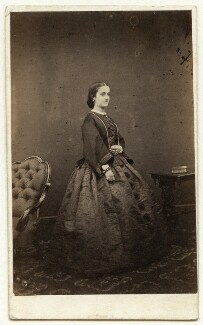 Adelina Patti, by Nelson & Marshall, published by  Richard Burton & Co, circa 1859 - NPG x12685 - © National Portrait Gallery, London