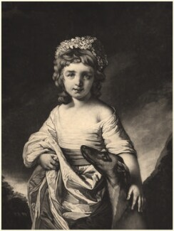 Mary Smith (née Cunliffe), by James Watson, after  Francis Cotes - NPG D9158