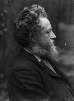 William Morris, by Sir Emery Walker - NPG x19612