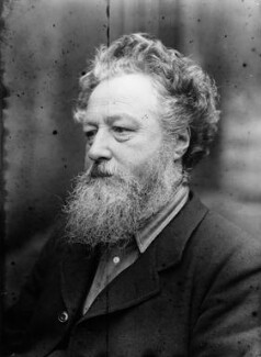 William Morris, by Sir Emery Walker - NPG x19613