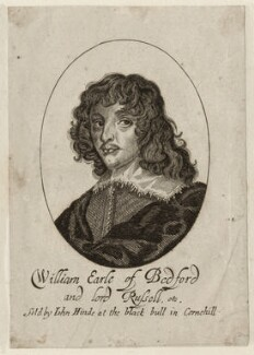 William Russell, 1st Duke of Bedford, by George Glover, published by  John Hinde - NPG D28203