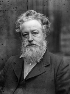 William Morris, by Sir Emery Walker - NPG x19615