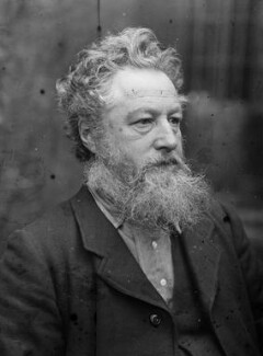 William Morris, by Sir Emery Walker - NPG x19617