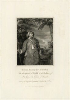 William Feilding, 1st Earl of Denbigh, by Thomas Anthony Dean, after  William Derby, and after  Sir Anthony van Dyck - NPG D28209
