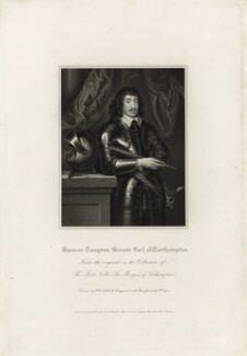 Spencer Compton, 2nd Earl of Northampton, by Robert Cooper, published by  Lackington, Allen & Co, and published by  Longman, Hurst, Rees, Orme & Brown, after  Robert William Satchwell, after  Unknown artist - NPG D28213