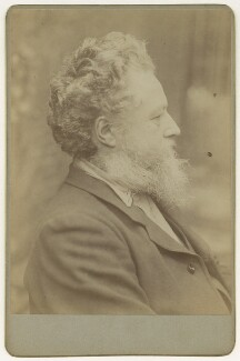 William Morris, by Sir Emery Walker - NPG x3747