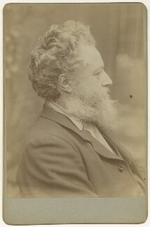 William Morris, by Sir Emery Walker - NPG x3748