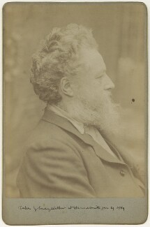 William Morris, by Sir Emery Walker - NPG x3734