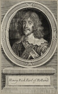 Henry Rich, 1st Earl of Holland, by Unknown artist - NPG D28224