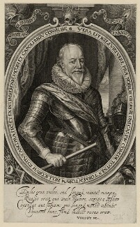 George Carew, Earl of Totnes, by Robert van Voerst - NPG D28234