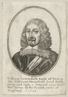 William Cavendish, 1st Duke of Newcastle-upon-Tyne, by Wenceslaus Hollar - NPG D28238