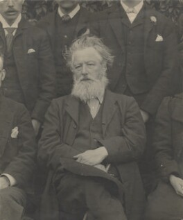 William Morris, by Unknown photographer - NPG x3761