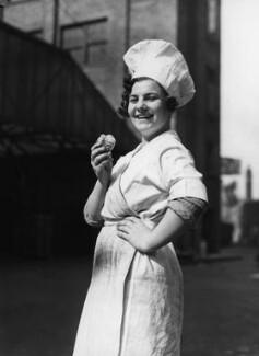 Lyons Bakery employee, by Harold Tomlin, for  Daily Herald - NPG x88265