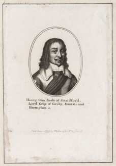 Henry Grey, 1st Earl of Stamford, published by William Richardson, after  Wenceslaus Hollar - NPG D28242
