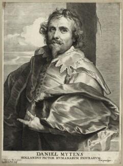 Daniel Mytens, by Paulus Pontius (Paulus Du Pont), after  Sir Anthony van Dyck - NPG D28245
