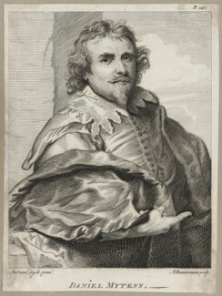 Daniel Mytens, by Alexander Bannerman, after  Sir Anthony van Dyck - NPG D28246