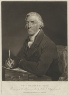 George Burder, by Henry Meyer, after  Henry William Pickersgill - NPG D32397