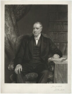 John Burder, by George Raphael Ward, after  Eden Upton Eddis - NPG D32398