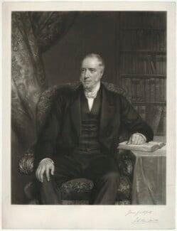 John Burder, by George Raphael Ward, after  Eden Upton Eddis - NPG D32398