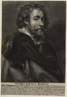 Sir Peter Paul Rubens, by Johannes Meyssens, after  Sir Peter Paul Rubens - NPG D28249