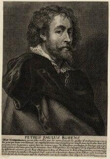Sir Peter Paul Rubens, by Johannes Meyssens, after  Sir Peter Paul Rubens, mid 17th century - NPG D28249 - © National Portrait Gallery, London