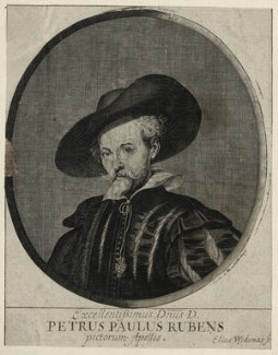 Sir Peter Paul Rubens, by Elias Widemann - NPG D28252