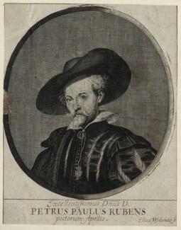 Sir Peter Paul Rubens, by Elias Widemann - NPG D28252