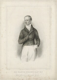 Sir Francis Burdett, 5th Bt, by Robert Cooper, after  Thomas Charles Wageman - NPG D32401