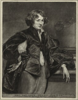Sir Anthony van Dyck, by Jan van der Bruggen, after  Sir Anthony van Dyck - NPG D28258