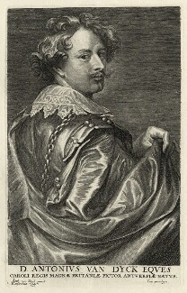 Sir Anthony van Dyck, by Lucas Vorsterman, after  Sir Anthony van Dyck - NPG D28269