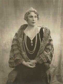 Victoria Eugenie ('Ena') of Battenberg, Queen of Spain, by Janet Jevons - NPG x45161