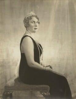Victoria Eugenie ('Ena') of Battenberg, Queen of Spain, by Janet Jevons - NPG x45158