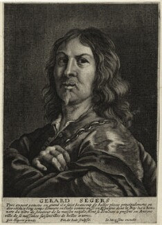 Gerard Seghers, by Pieter de Jode I, after  Gerard Seghers, published by  Johannes Meyssens - NPG D28275
