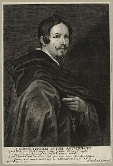 Gerard Seghers, by Lucas Vorsterman, after  Sir Anthony van Dyck - NPG D28277