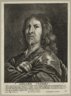 Gerard Seghers, by Pieter de Jode I, after  Gerard Seghers, published by  Johannes Meyssens - NPG D28278