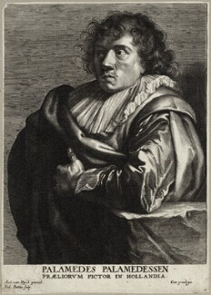 Stevers (Stevens, Stevaerts) (Palamedes, Palamedesz), by Paulus Pontius (Paulus Du Pont), after  Sir Anthony van Dyck - NPG D28281