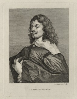 Adriaen Hanneman, by Alexander Bannerman, after  Adriaen Hanneman - NPG D28287