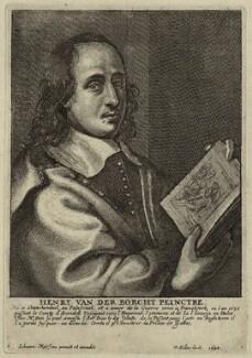 Hendrick van der Borcht the Younger, by Wenceslaus Hollar, after  Johannes Meyssens - NPG D28293