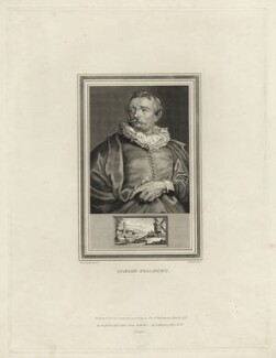 Adriaen van Stalbemt, by John Corner, after  Sir Anthony van Dyck - NPG D28302