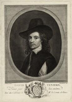 David Teniers Jr, by Jean Baptiste Michel, after  David Teniers Jr - NPG D28316