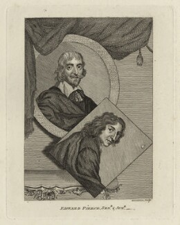 Edward Pearce Sr and Edward Pearce, by Alexander Bannerman - NPG D28318