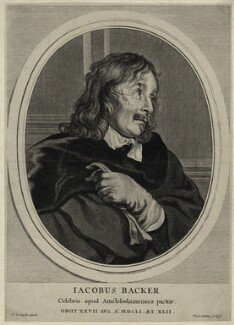 Jacob Adriaensz. Backer, by Theodor Matham, after  Thomas de Keyser - NPG D28325