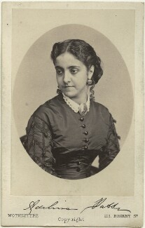 Adelina Patti, by United Association of Photography Limited, circa 1865 - NPG Ax39837 - © National Portrait Gallery, London