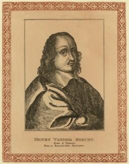 Hendrick van der Borcht the Elder, after Unknown artist - NPG D28326