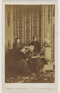 Royal mourning group, 1862, by William Bambridge - NPG x131271