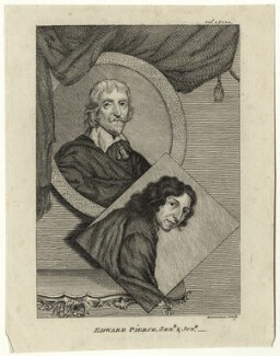 Edward Pearce Sr and Edward Pearce, by Alexander Bannerman - NPG D28338